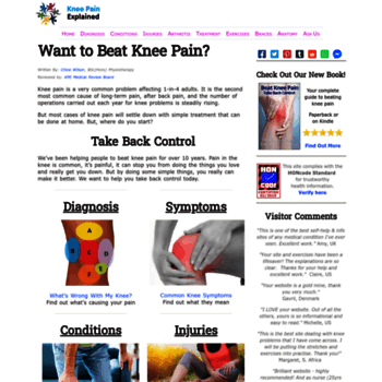 Knee-pain-explained.com thumbnail