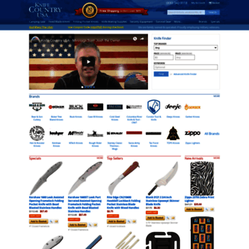 knifecountryusa com at WI  Knives and Outdoor Survival Gear