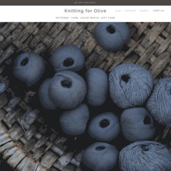 Knittingforolive.com thumbnail