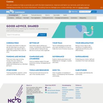 Knowhow.ncvo.org.uk thumbnail