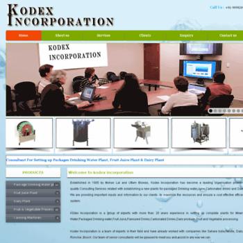 Kodexincorporation.in thumbnail