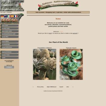 Koehres-kaktus.de thumbnail