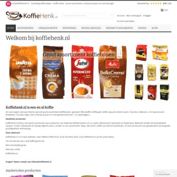Koffiehenk.nl thumbnail