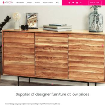 Kokoondesign Com At Wi Kokoon Design Wholesale Modern