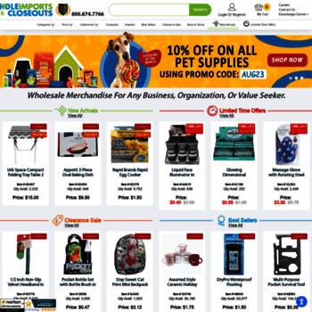 koleimports com at WI  Wholesale Merchandise, Closeout