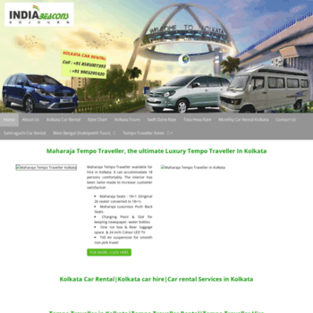 Kolkatacarrental Net At Wi Kolkata Car Rental Car Hire Kolkata