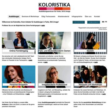 Koloristika.ch thumbnail