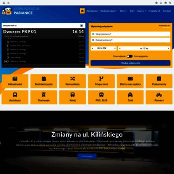 Komunikacjapabianice.pl thumbnail