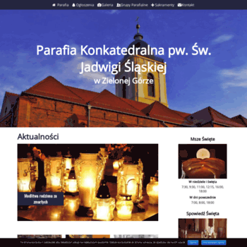 Konkatedrazielonagora.pl thumbnail