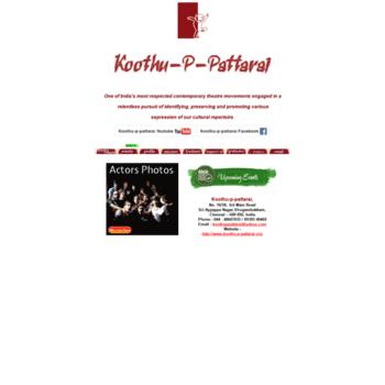 Koothu-p-pattarai.org thumbnail