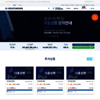 Koreafunding.co.kr thumbnail