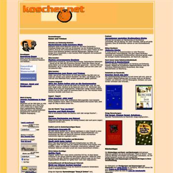 Koscher.net thumbnail