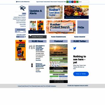 Kosher.org.uk thumbnail