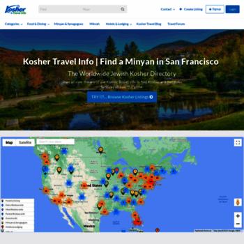 koshertravelinfo com at WI  Kosher Travel Info | - Kosher