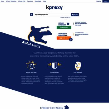 kproxy com at WI  KPROXY - Free Anonymous Web Proxy - Anonymous Proxy