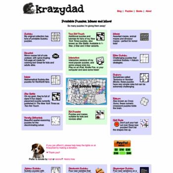 photo about Krazydad Printable Sudoku named at WI. Printable Puzzles via KrazyDad