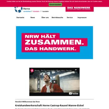 Kreishandwerkerschaft-herne.de thumbnail