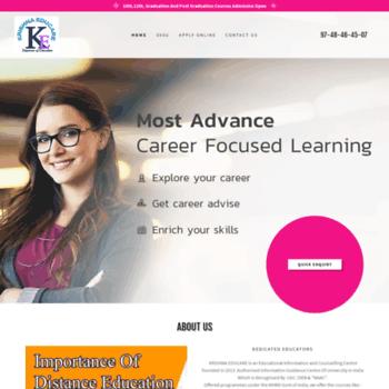 Krishnaeducare.com thumbnail