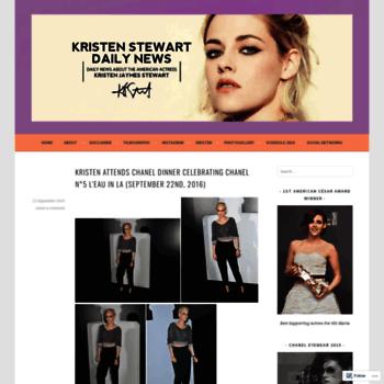 Kristenstewartdailynews.wordpress.com thumbnail