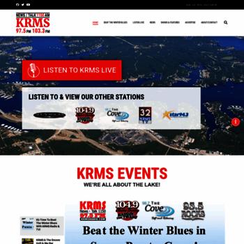 krmsradio com at WI  News/Talk KRMS 1150 AM, 97 5 FM & 104 9