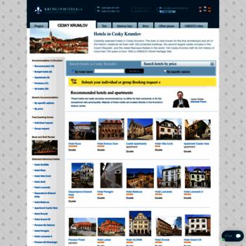 Krumlovhotels.cz thumbnail