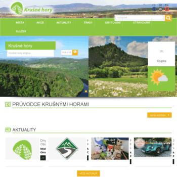Krusne-hory.org thumbnail