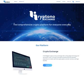 Kryptono.exchange thumbnail