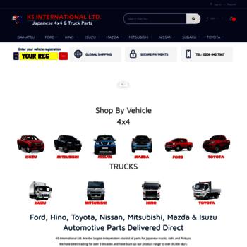ks-international com at WI  Japanese 4x4 parts, Toyota, Nissan