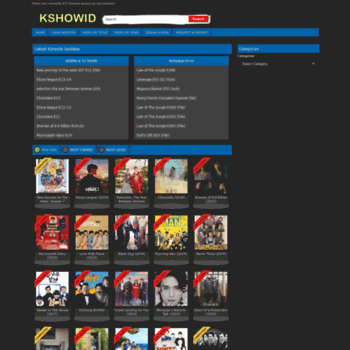 kshowid com at WI  Fembed - All-in-one Video Platform