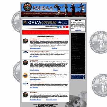 Kshsaa.org thumbnail
