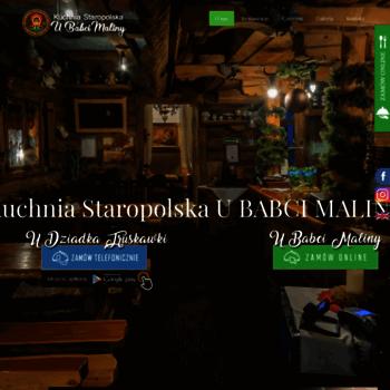 Kuchniaubabcimaliny Pl At Wi Restauracja Krakow Kuchnia U Babci