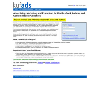 kufads com at WI  Advertising, Marketing and Promotion for