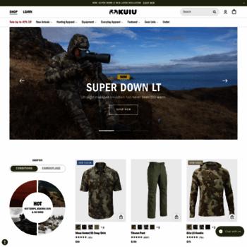 36b2e4faf kuiu.com at WI. KUIU - High Performance Hunting Gear & Apparel