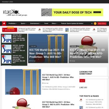 kukikol com at WI  Who will win? Kuki's Call On - Cricket Match