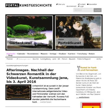 Kunstgeschichteportal.de thumbnail