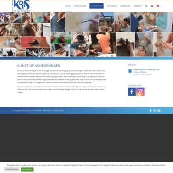Kunstopscheveningen.nl thumbnail