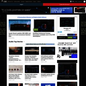 kvraudio com at WI  KVR: VST Plugins, Audio Units (AU