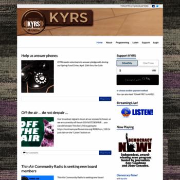 Kyrs.org thumbnail
