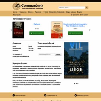 La-commanderie.be thumbnail