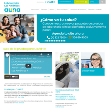 Lablasamericas.com.co thumbnail