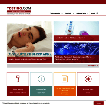 labtestsonline org at WI  Patient Education on Blood, Urine