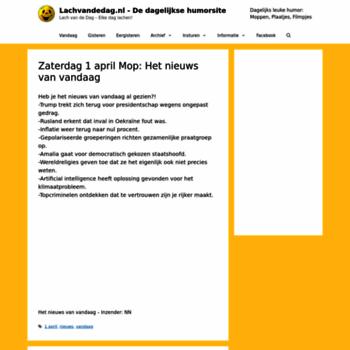 Lachvandedag.nl thumbnail