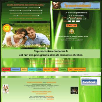 sites de rencontres chrétiennes en France