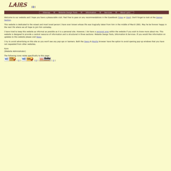 Lairs.co.uk thumbnail