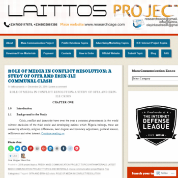 Laittosproject.wordpress.com thumbnail