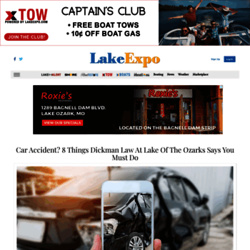 lakeexpo com at WI  News, Boating, Lake Life at Lake of the
