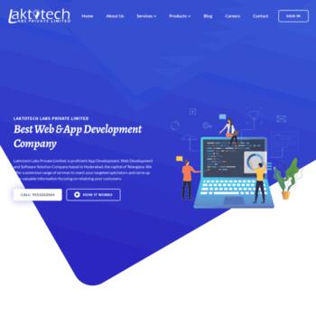 Laktotechlabs Com At Wi Best Web Development Company Web Designers In Hyderabad