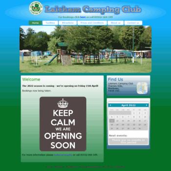 Lalehamcampingclub.co.uk thumbnail