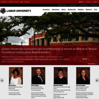 Lamar.edu thumbnail