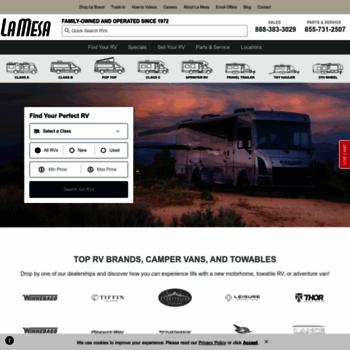 lamesarv com at WI  RVs & Motorhomes For Sale | RV Sales